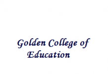 Golden College of Education Wanted Assistant Professor