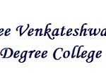 Sree Venkateshwara Degree College Wanted Lecturers