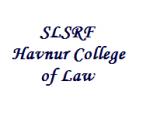 Teaching Jobs/Non Teaching Jobs at SLSRF Havnur College of Law